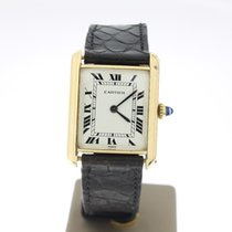 Cartier Paris YellowGold (BOXonly2000) 23x30mm Manual MINT...