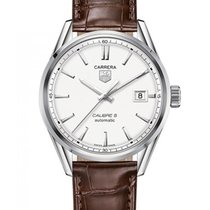 TAG Heuer Carrera Calibre 5 Steel 39mm White