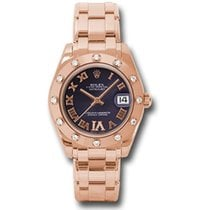 Rolex Rose gold 34mm Automatic 81315 pdr new