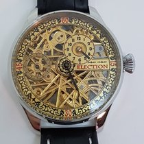 Election Regulator Skeleton Men's Marriage wristwatch circa 1915