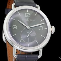 Bell & Ross Silver Manual winding Grey 41mm new Vintage
