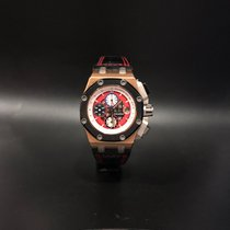 Audemars Piguet Rose gold Automatic Red 42mm pre-owned Royal Oak Offshore
