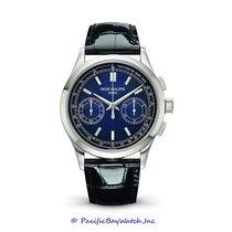 Patek Philippe Platinum Automatic Blue 40mm new Chronograph