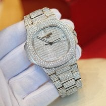 Patek Philippe Nautilus Steel Full Diamonds After-Market