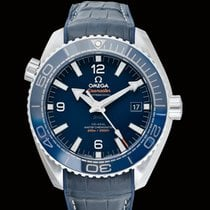 Omega Seamaster Planet Ocean Steel 43.5mm Blue United States of America, California, San Mateo