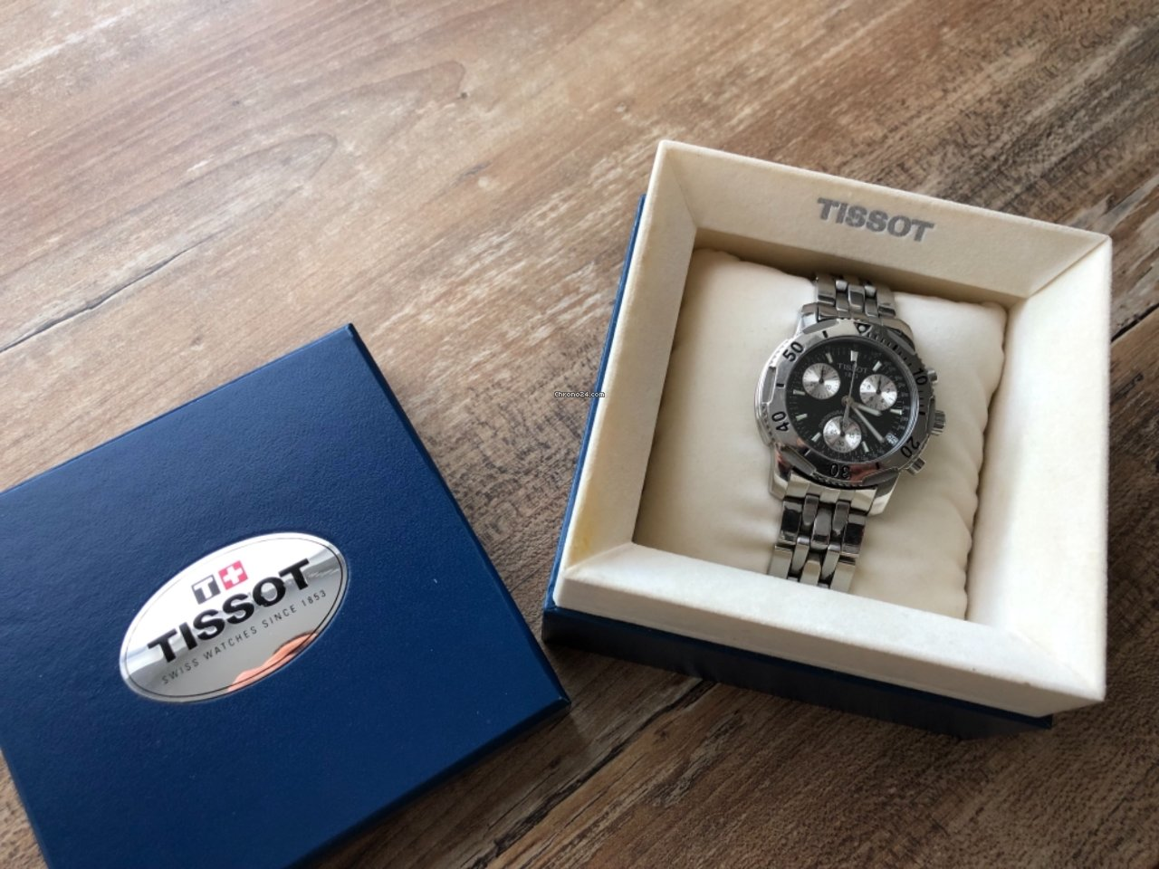 7d10e734d71 Tissot PRS 200 Aço - Todos os preços de relógios Tissot PRS 200 Aço na  Chrono24