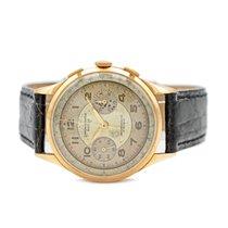 Chronographe Suisse Cie Ouro rosa 38mm Corda manual usado
