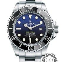 Rolex 44mm Remontage automatique 2018 nouveau Sea-Dweller Deepsea Noir