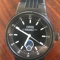 Oris Williams F1 Zeljezo 40mm Crn Arapski brojevi