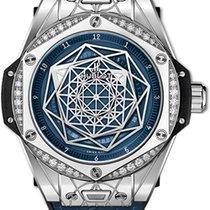 Hublot Big Bang Sang Bleu Steel 39mm Blue