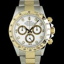 Rolex Daytona Gold/Stahl 40mm Weiß