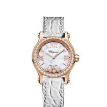 Chopard Or rose 30mm Remontage automatique 274893-5010 nouveau