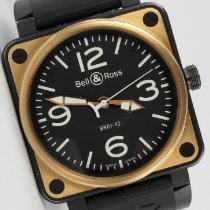 Bell & Ross BR 01-92 BR01-92-S/R-384 pre-owned