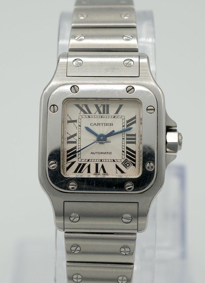 Cartier Santos Galbée 2423 2000 подержанные