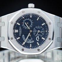Audemars Piguet Royal Oak Dual Time Stahl 39mm Blau
