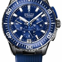 Zenith El Primero Stratos Flyback 45.5mm Blue United States of America, New York, Brooklyn