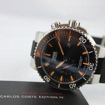 Oris Carlos Coste Limited Edition Titan 46mm Schwarz Keine Ziffern Deutschland, Augsburg