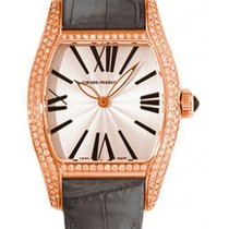 Girard Perregaux Richeville Rose gold 30mm Silver Roman numerals United States of America, New York, Greenvale