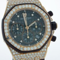Audemars Piguet Royal Oak Offshore Lady Rose gold 37mm Brown No numerals United States of America, New York, Greenvale