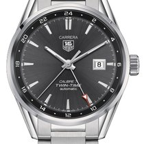 TAG Heuer Carrera Calibre 7 Steel Black United States of America, New York, Brooklyn