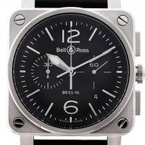 Bell & Ross Aviation BR 03-94 Stahl Automatik Chronograph...