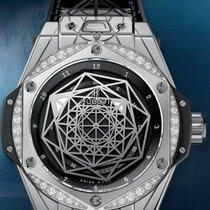 Hublot BIG BANG  STEEL DIAMONDS 456SS1117VR1204MXM17