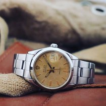 Rolex Oyster Precision Steel 34mm Gold