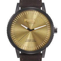 Puma PU104101006 Suede Herrenuhr 46mm 10ATM