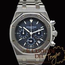 Audemars Piguet Royal Oak Chronograph 25860ST Blue Dial Full Set