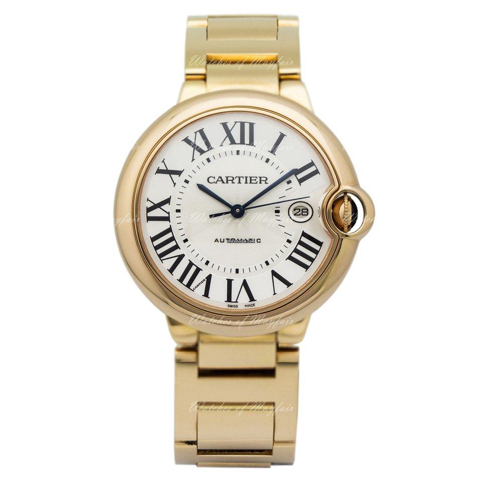 7509252111b Cartier Ballon Bleu 42mm Rose gold - all prices for Cartier Ballon Bleu  42mm Rose gold watches on Chrono24