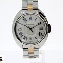 Cartier Clé de Cartier Staal 40mm Zilver Romeins Nederland, BREDA