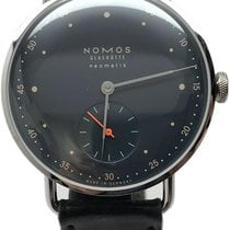 NOMOS Metro Neomatik Steel 8mm Blue No numerals United States of America, Florida, Naples