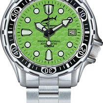 Chris Benz Steel 39mm Automatic 500m new