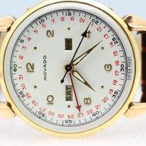 모바도 옐로우골드 34mm 수동감기 중고시계