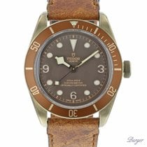 Tudor Chronometer 43mm Automatic pre-owned Black Bay Bronze Brown