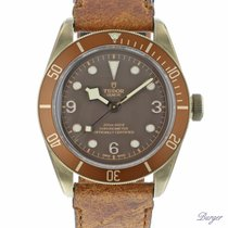 Tudor Black Bay Bronze begagnad 43mm Brons