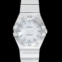 Omega Constellation Quartz Steel 24mm Mother of pearl United States of America, California, San Mateo