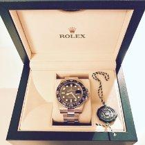 Rolex GMT-Master II gebraucht 40mm Stahl