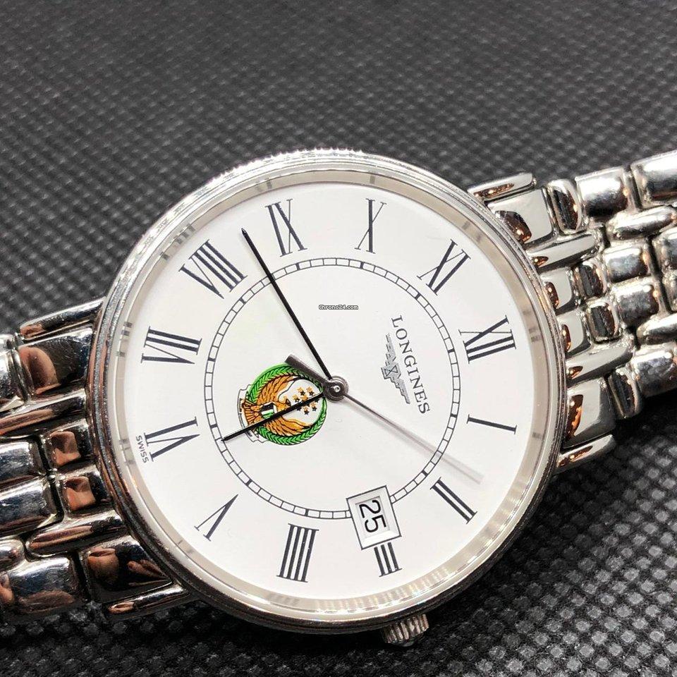 Longines Présence QUARTZ 33mm STEEL UAE POLICE LOGO L4.720.4 eladó 216 381  Ft Seller státuszú eladótól a Chrono24-en 716487025d