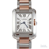 Cartier Tank Anglaise pre-owned 30mm Steel