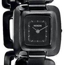 Nixon 23mm Quarz neu Schwarz