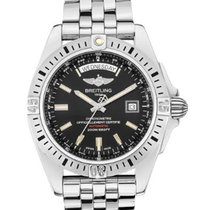 Breitling Galactic 44 Steel 44mm Black United States of America, New York, NY