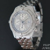 Breitling Crosswind Racing Steel 44mm Silver