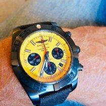 Breitling Chronomat 44 Blacksteel Acero 44mm Amarillo