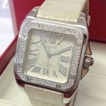 Cartier Santos 100 WM50460M Very good White gold 32mm Automatic United Kingdom, Wilmslow