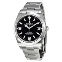 Rolex Explorer Steel 39mm Black Arabic numerals India, Mumbai