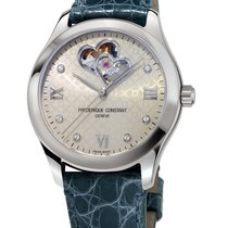 Frederique Constant Ladies Automatic Double Heart Beat Otel Gri
