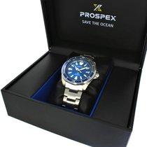 Seiko Prospex SRPD23K1 Prospex Save The Ocean 43,8mm Blu Acciaio new