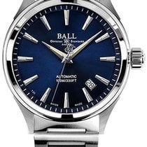Ball Fireman Victory Steel 40mm Blue No numerals