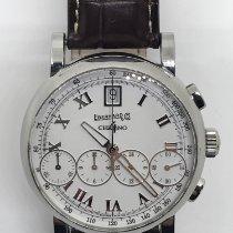 Eberhard & Co. Chrono 4 Steel 40mm White Roman numerals